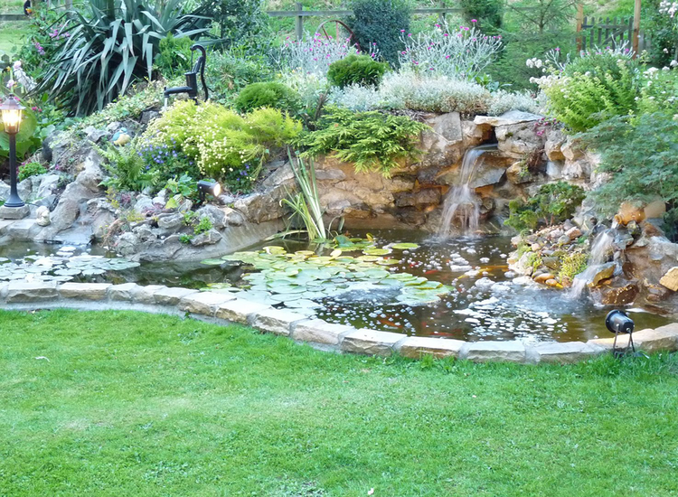 Pond & Water Feature Installation